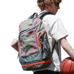 Trendy Basketball Gym Bag Football Soccer Backpack Women Men With Shoe Compartment For Girls Boys