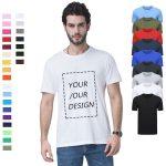 Dropship RTS print T-shirts , High quality Digital printing Custom design dtg printed tshirt unique graphic t shirts for men