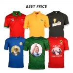 Election And Promotion Dry Fit O-Neck T Shirt With Full Color Sublimation Printing Wholesale OEM &ODM