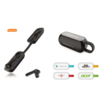 TWS Bluetooth Earbuds With Laser Logo